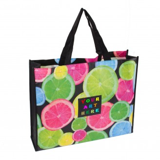 Full Imprint Laminated Tote Bag