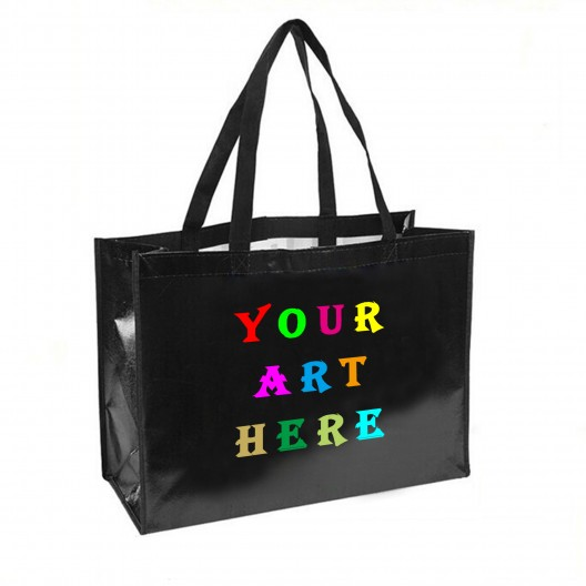 "18"" L x 8""W x 12""H Laminated Tote Bag"