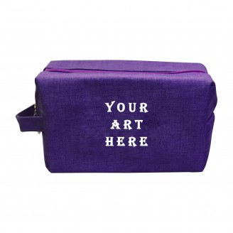 Purple Cosmetic Bag