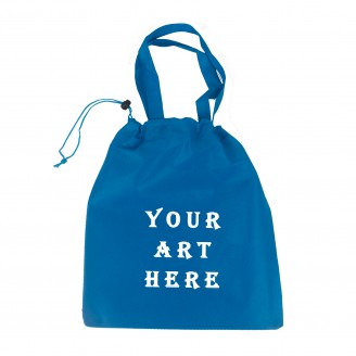 "Drawstring Tote Bag 11.5""W x 13""H"